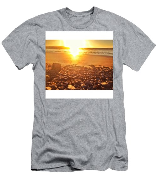 Down The Beach #beach Men's T-Shirt (Athletic Fit)