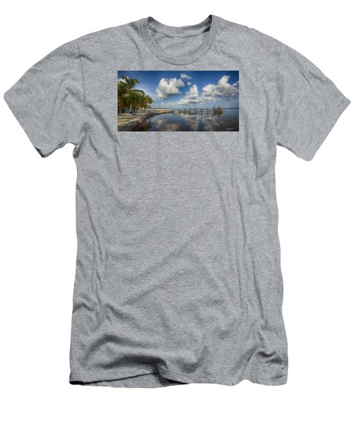 Men's T-Shirt (Slim Fit) featuring the photograph Down The Shore by Don Durfee