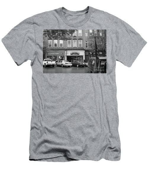Downtown Cooperstown Ny  Men's T-Shirt (Athletic Fit)