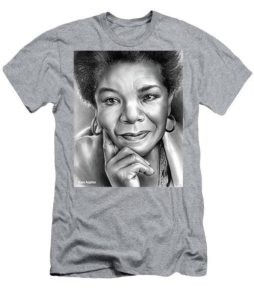 Dr Maya Angelou Men's T-Shirt (Athletic Fit)