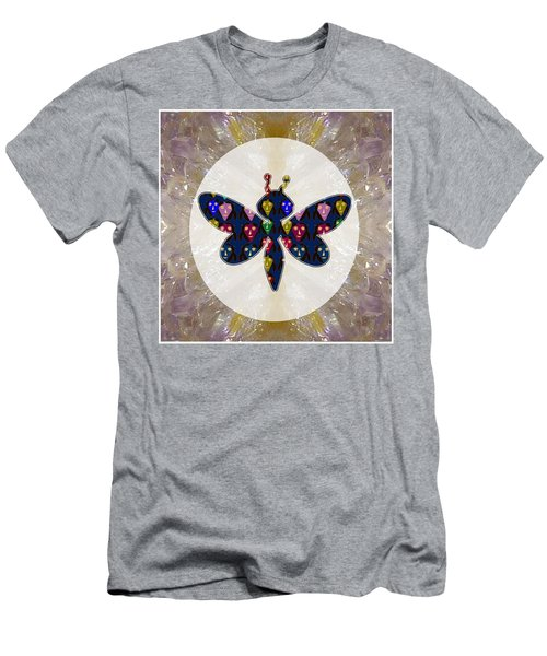 Dragon Fly Cute Painted Face Cartons All Over Donwload Option Link Below Personl N Commercial Uses Men's T-Shirt (Athletic Fit)