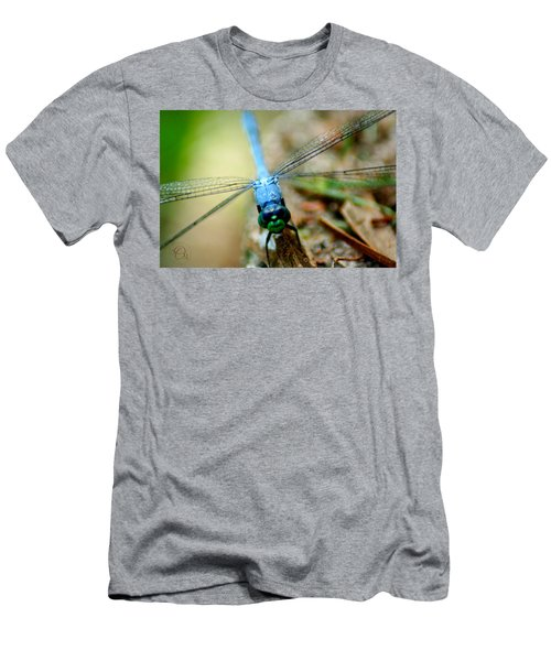 Dragonfly Closeup Men's T-Shirt (Slim Fit) by Shelley Overton