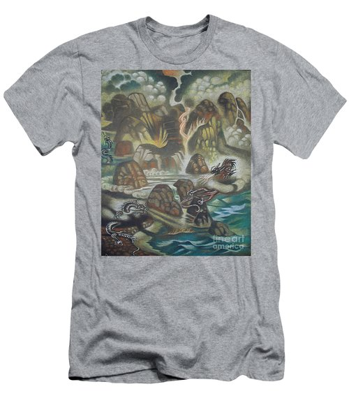 Dragon's Breath Men's T-Shirt (Athletic Fit)