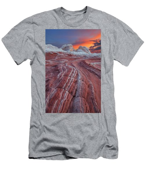 Dragons Tail Sunrise Men's T-Shirt (Athletic Fit)