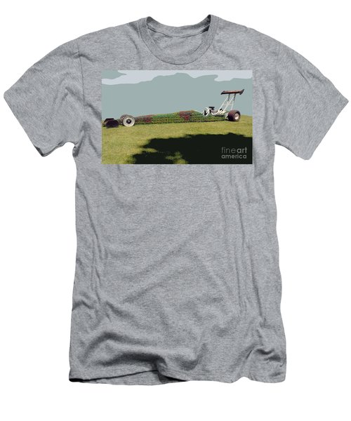 Dragster Flower Bed Men's T-Shirt (Athletic Fit)