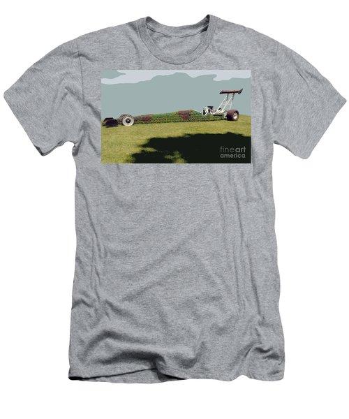 Dragster Flower Bed Men's T-Shirt (Athletic Fit)