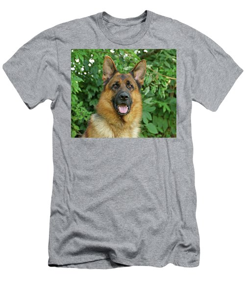 Men's T-Shirt (Slim Fit) featuring the photograph Drake by Sandy Keeton