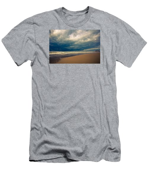Dramatic Clouds Of Winter Men's T-Shirt (Athletic Fit)