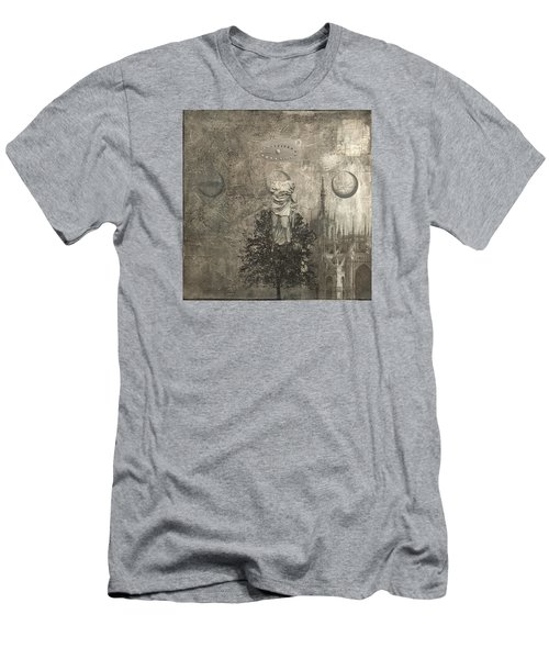 Dream - In Black And White Men's T-Shirt (Athletic Fit)