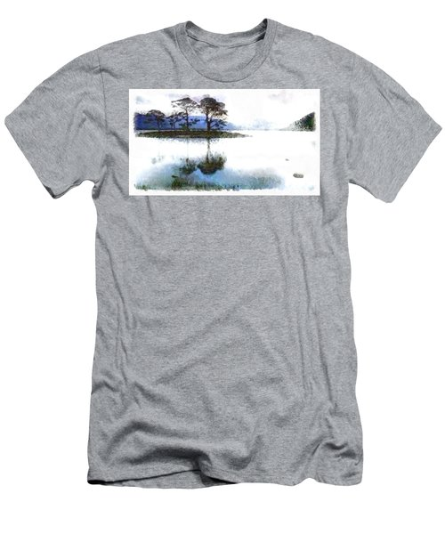 Dream Island Men's T-Shirt (Slim Fit) by Mario Carini