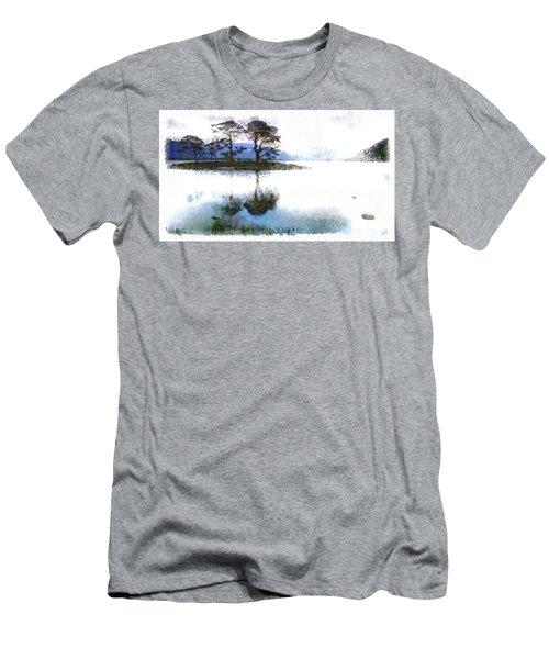 Dream Island Men's T-Shirt (Athletic Fit)