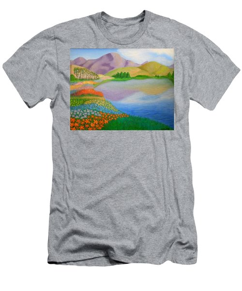 Dream Land Men's T-Shirt (Slim Fit) by Sheri Keith