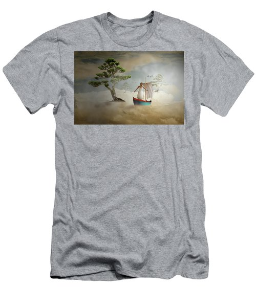 Men's T-Shirt (Slim Fit) featuring the digital art Dreaming High by Nathan Wright