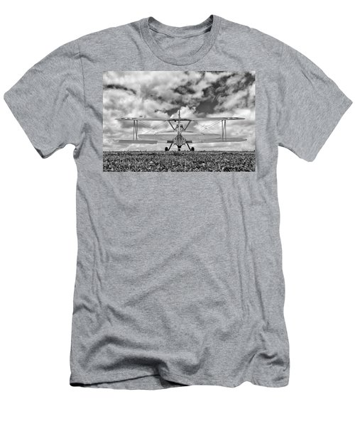 Dreaming Of Flight, In Black And White Men's T-Shirt (Athletic Fit)