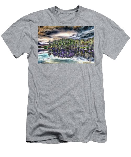 Dreaming Of The Past Men's T-Shirt (Slim Fit) by Daniel Hebard