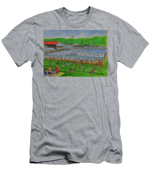 Dreamland Pool Summer 1948 Men's T-Shirt (Athletic Fit)
