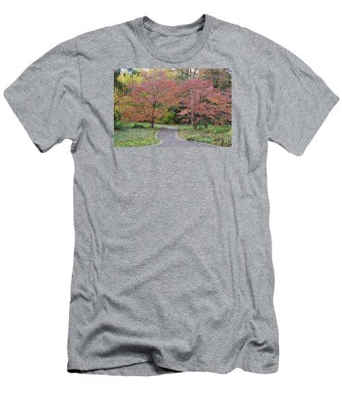 Men's T-Shirt (Slim Fit) featuring the photograph Dreamwalk by Deborah  Crew-Johnson