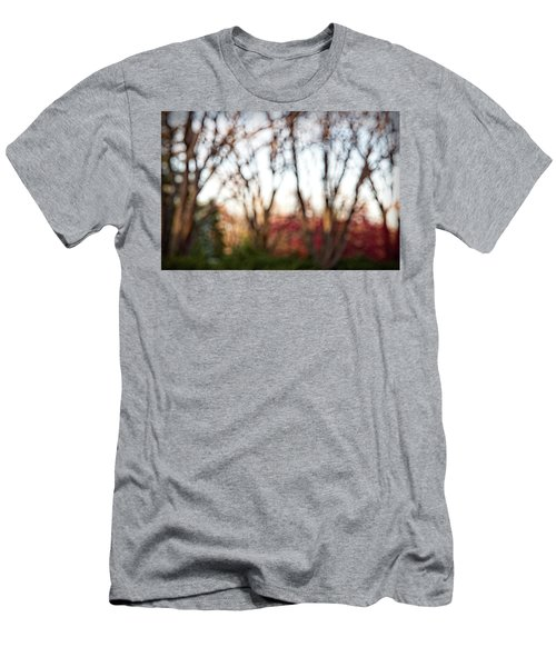 Men's T-Shirt (Slim Fit) featuring the photograph Dreamy Fall Colors by Susan Stone