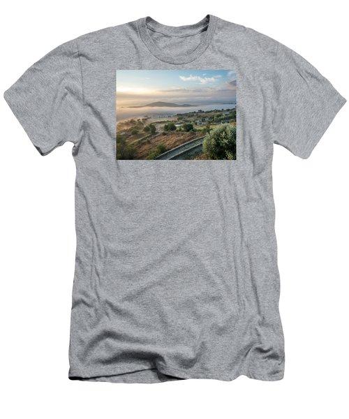 Dreamy Landscape Men's T-Shirt (Athletic Fit)