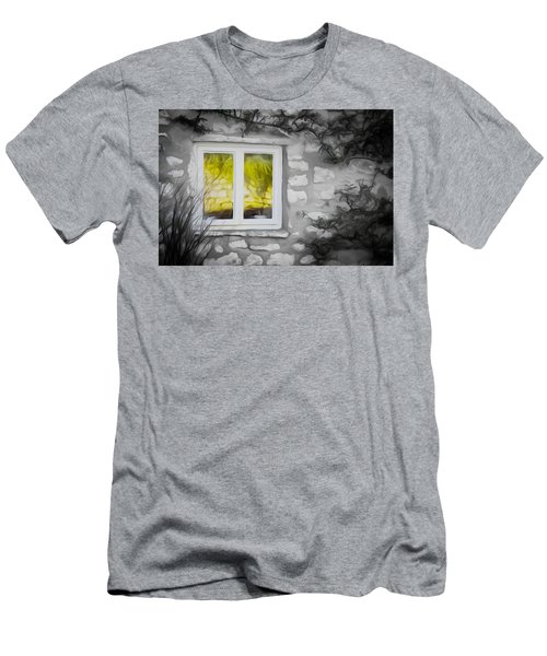 Dreamy Window Men's T-Shirt (Athletic Fit)