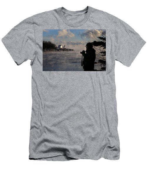 Dressed For Sea Smoke Men's T-Shirt (Athletic Fit)