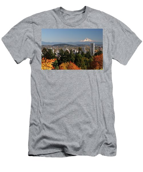 Dressed In Fall Colors Men's T-Shirt (Athletic Fit)