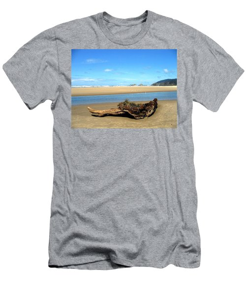 Driftwood Garden Men's T-Shirt (Athletic Fit)