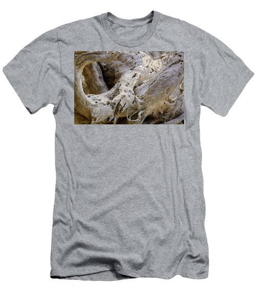 Driftwood On The Beach Men's T-Shirt (Athletic Fit)