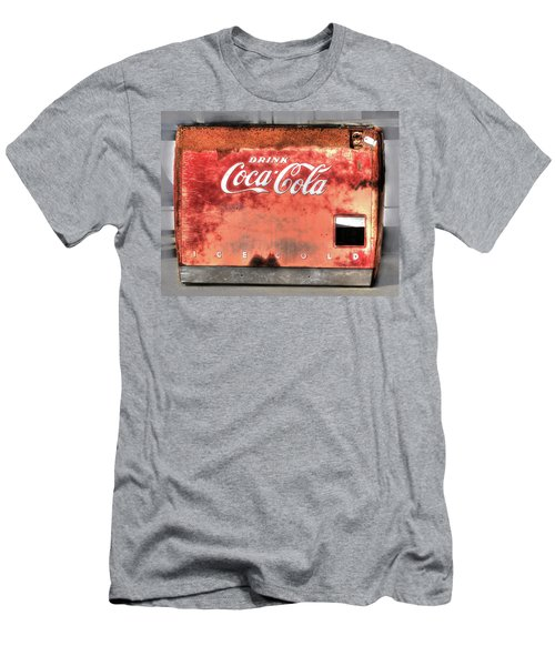 Drink Ice Cold Coca Cola Men's T-Shirt (Athletic Fit)