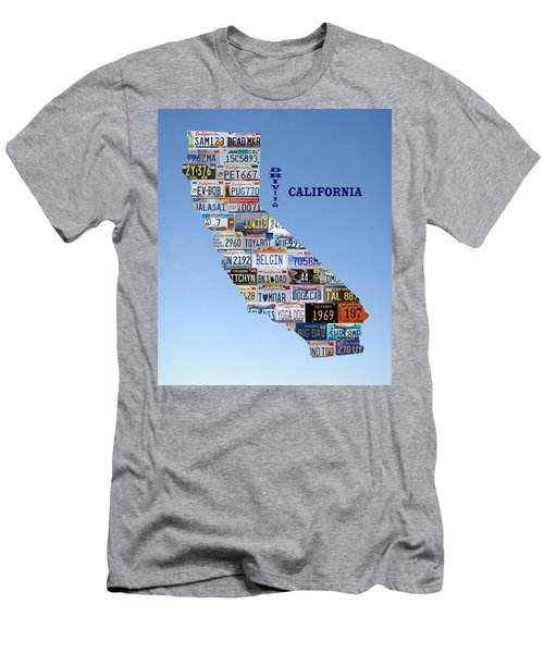 Driving California Men's T-Shirt (Athletic Fit)