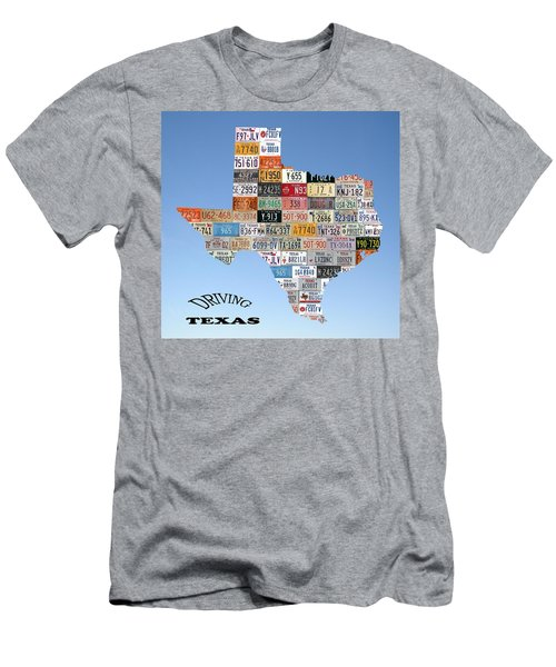 Driving Texas Men's T-Shirt (Athletic Fit)