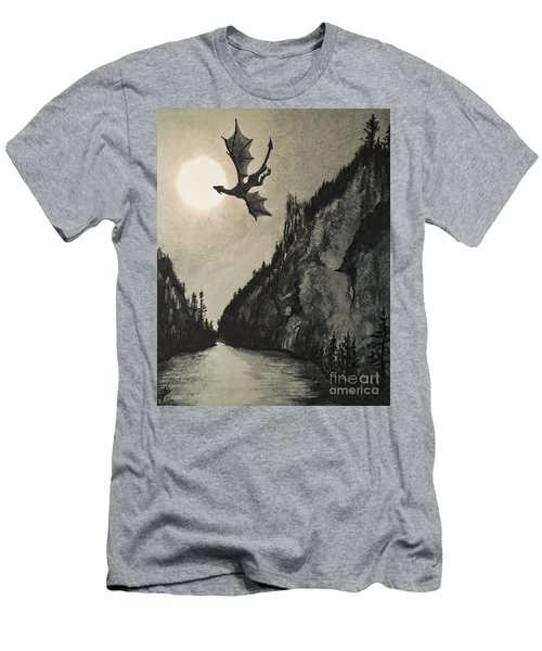 Drogon's Lair Men's T-Shirt (Athletic Fit)