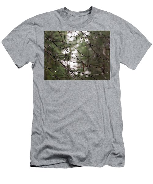 Droplets On Branches Men's T-Shirt (Athletic Fit)