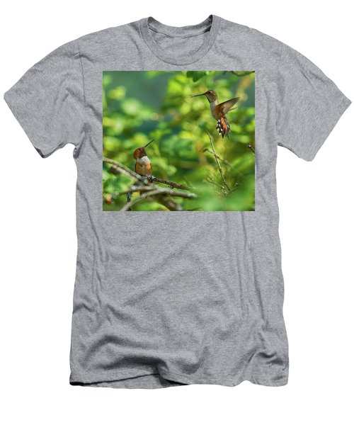 Dropped In Men's T-Shirt (Athletic Fit)
