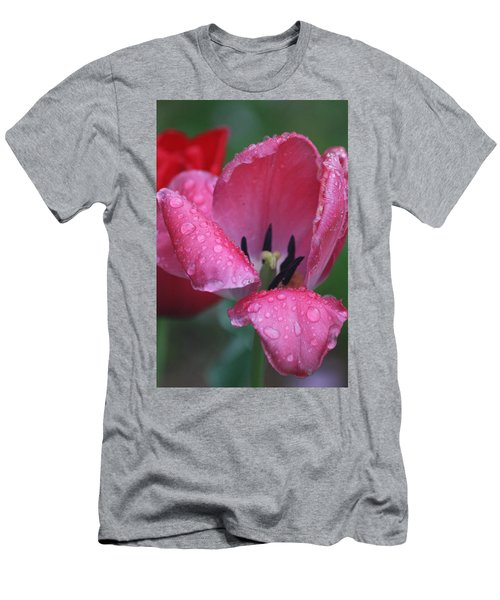 Men's T-Shirt (Slim Fit) featuring the photograph Drops Of Spring by Vadim Levin