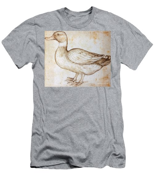 Duck Men's T-Shirt (Athletic Fit)
