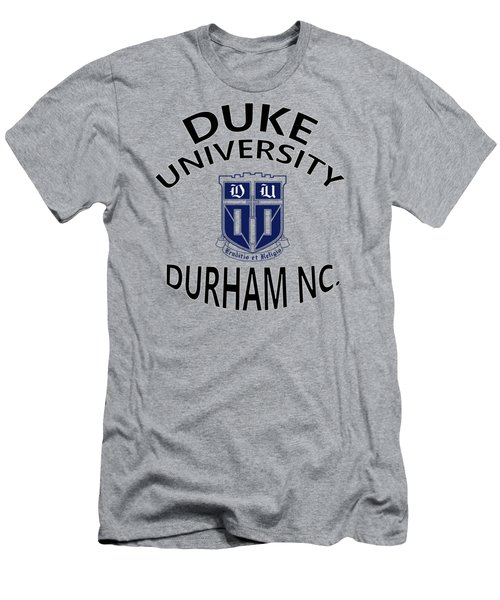 Duke University Durham Nc Men's T-Shirt (Athletic Fit)