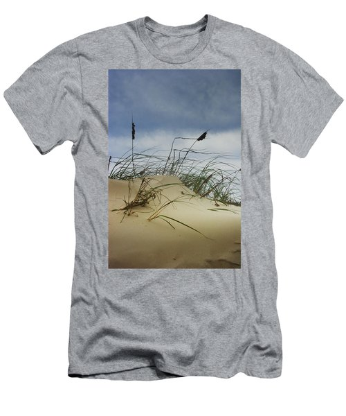 Dune And Beach Grass Men's T-Shirt (Athletic Fit)