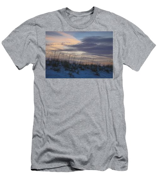 Dune Grass Blue Men's T-Shirt (Athletic Fit)