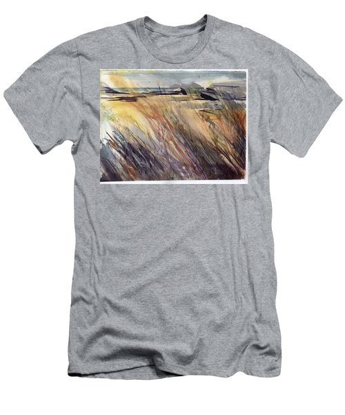 Dunescape Setting Men's T-Shirt (Athletic Fit)