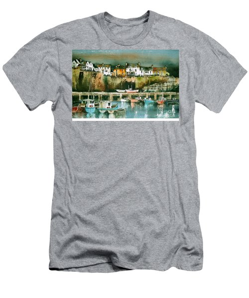 Dunmore East, Waterford Men's T-Shirt (Athletic Fit)