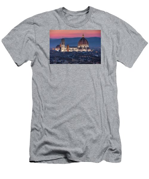 Men's T-Shirt (Slim Fit) featuring the photograph Duomo Di Firenze by Brent Durken