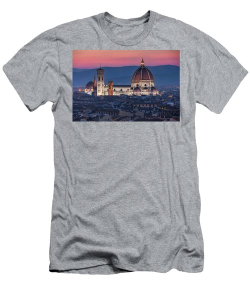 Duomo Di Firenze Men's T-Shirt (Athletic Fit)