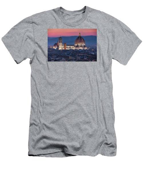 Duomo Di Firenze Men's T-Shirt (Athletic Fit)