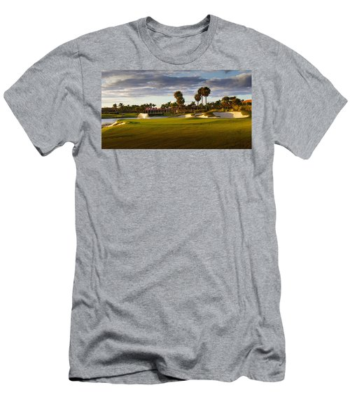 Dusk At P G A National Men's T-Shirt (Athletic Fit)