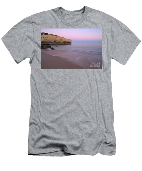 Dusk In Albandeira Beach Men's T-Shirt (Athletic Fit)