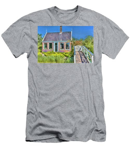 Dutch Cottage Men's T-Shirt (Athletic Fit)