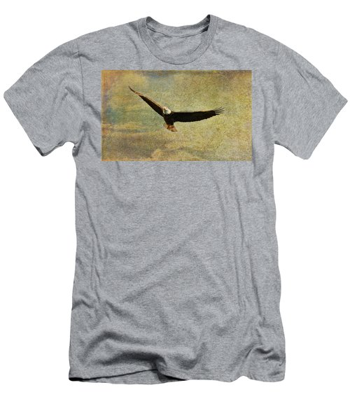 Eagle Medicine Men's T-Shirt (Slim Fit) by Deborah Benoit