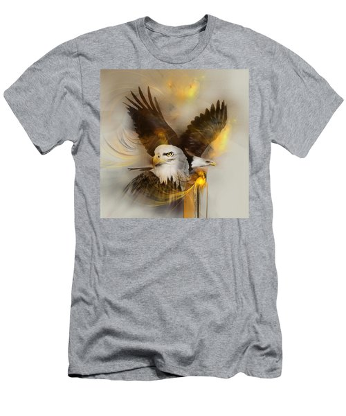 Eagle Pair Men's T-Shirt (Athletic Fit)