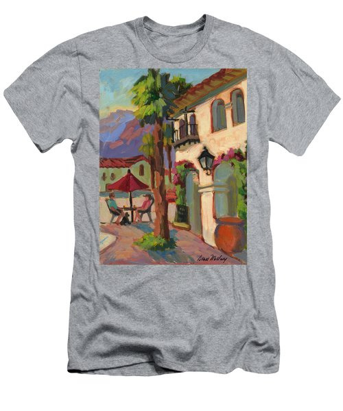 Early Morning Coffee At Old Town La Quinta Men's T-Shirt (Athletic Fit)